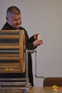Sergejs Serafimovičs - Apvienība Iedzīvotāji, Nr.2. Vēlēšanu zīmju secības izloze Ikšķiles novadā. 2017.gada 28.aprīlis