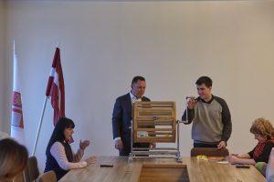 Mariss Martinsons - Latvijas Zemnieku savienība, Nr.4. Vēlēšanu zīmju secības izloze Ikšķiles novadā. 2017.gada 28.aprīlis