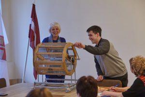 Aelita Grase - Latvijas Reģionu apvienība, Nr. 2. Vēlēšanu zīmju secības izloze Ikšķiles novadā. 2017.gada 28.aprīlis