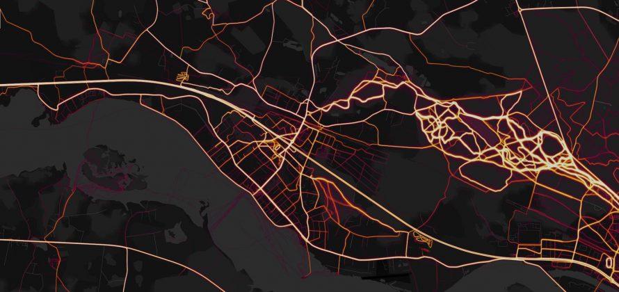 Visas sportiskas aktivitātes Ekrāršāviņš Strava Heat map Ikšķile 1