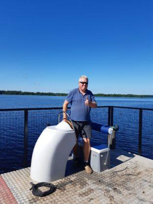 Māris Reimanis uz jaunā Ūdensprieks.lv plosta
