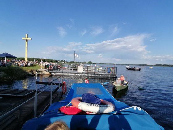 Udensprieks.LV Iksķiles laivu noma, Sv.Meinarda salas piestātne