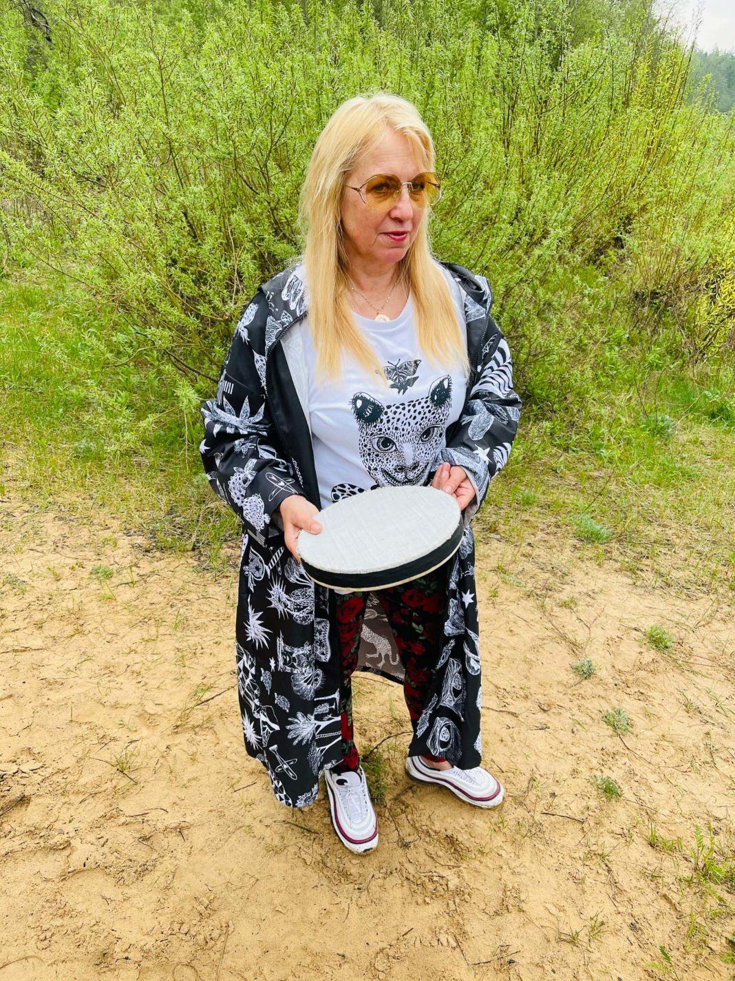 Multimaksla pop up tirdzins Olga Rajecka tamburins