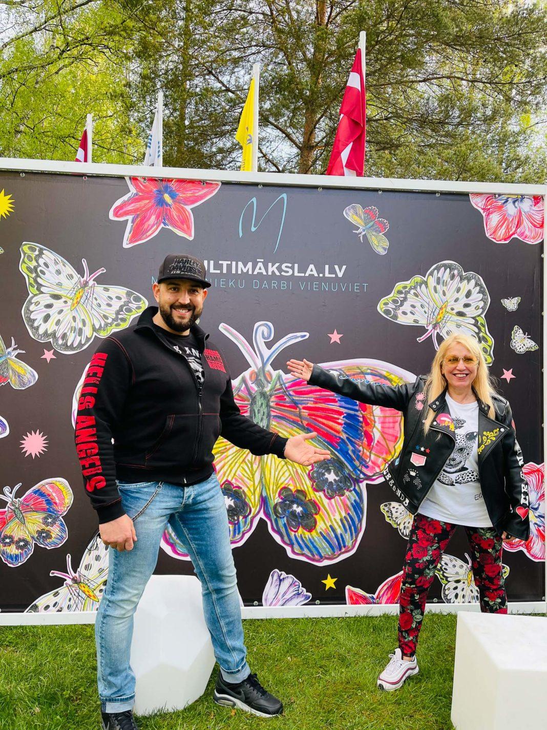 Multimaksla pop up tirdzins Raivis Vidzis Olga Rajecka